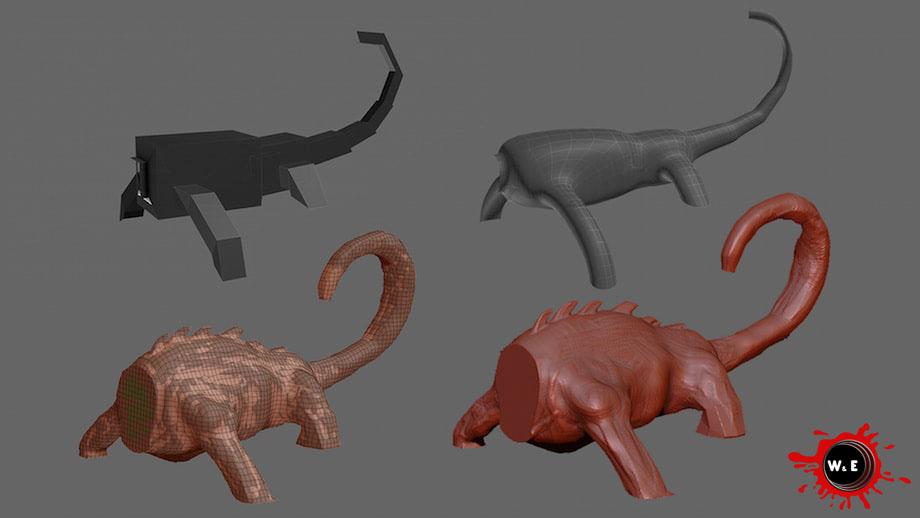 Modellazione 3D|Rendering|Animazioni 3D|W & E Srl
