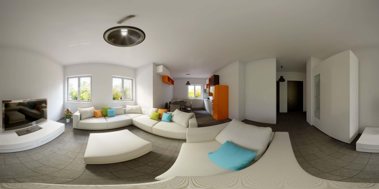 Lavori rendering interni rendering animazioni 3d w for Arredamento agenzia immobiliare