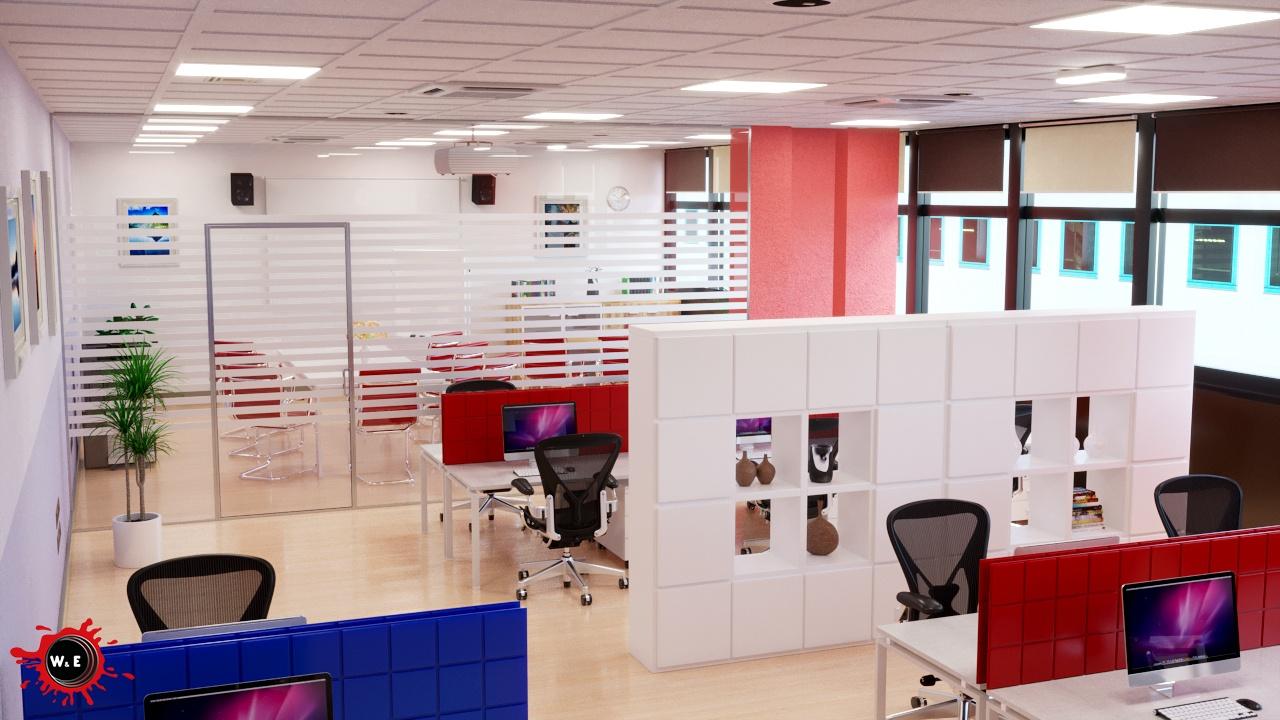 Rendering Arredamento ufficio