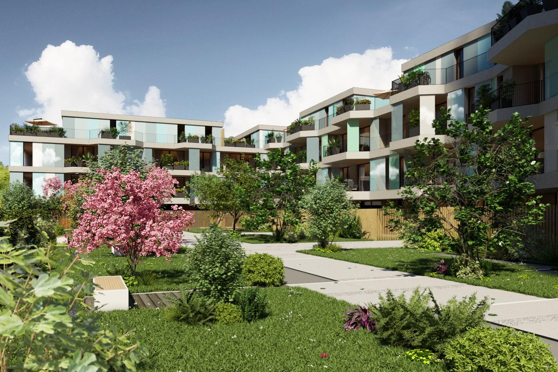 Rendering Complesso residenziale | Rendering Esterni