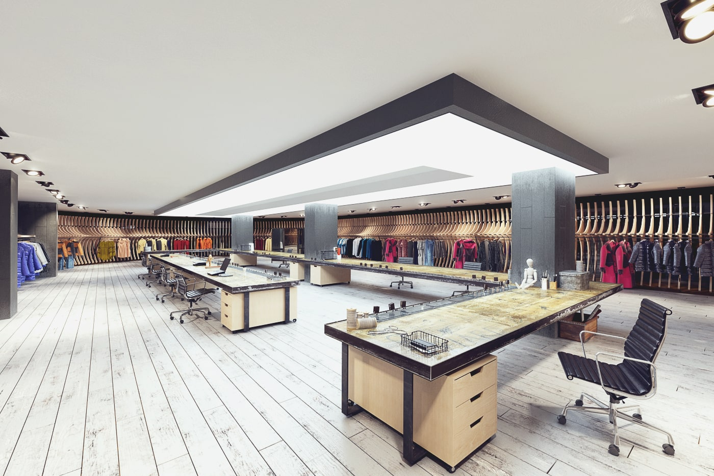 rendering negozio
