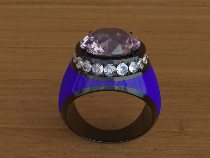 rendering anello