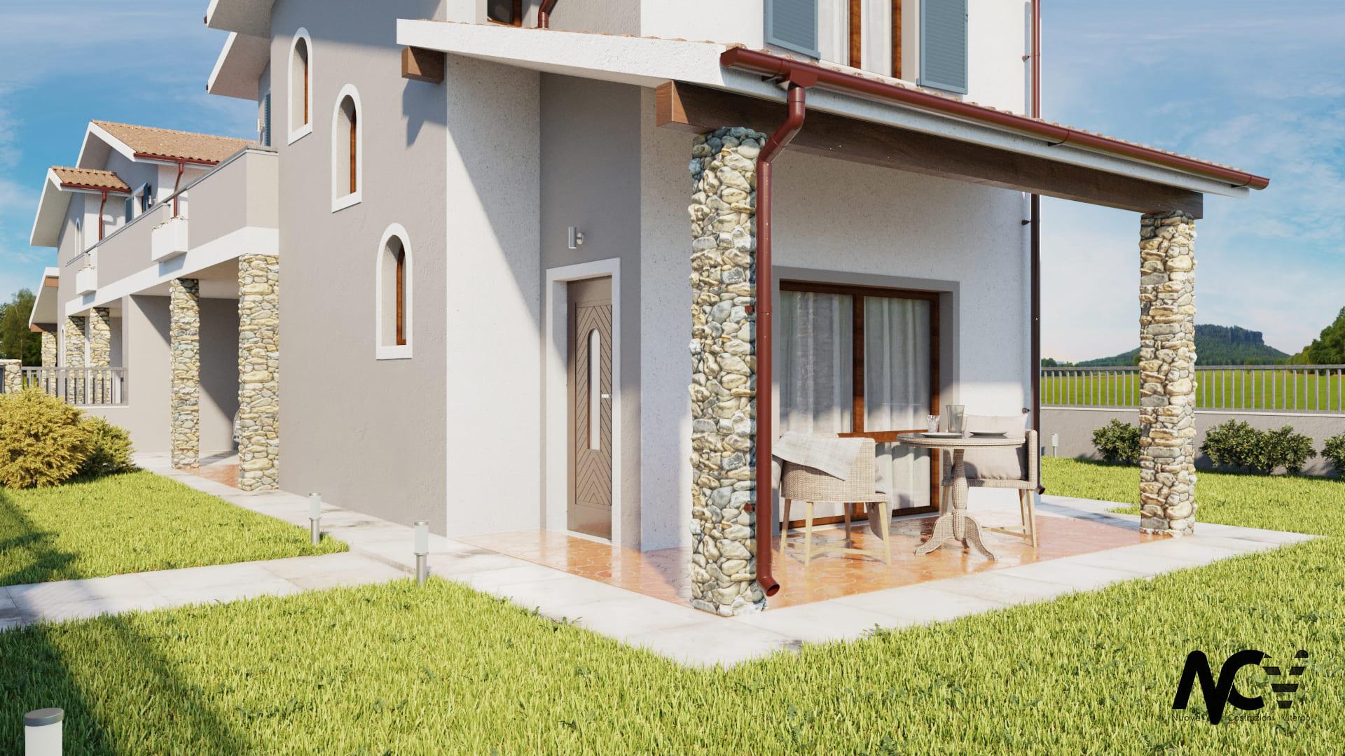 rendering villa bomarzo